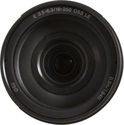 Objectif pour Hybride Sony SEL E 18-200mm f3.5-6.3 OSS LE Noir