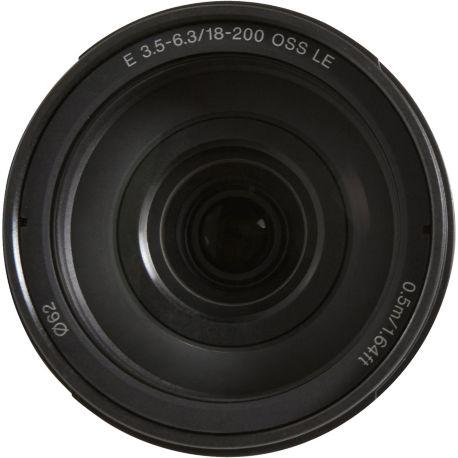 Objectif SONY SEL E 18-200mm f3.5-6.3 OSS LE Noir