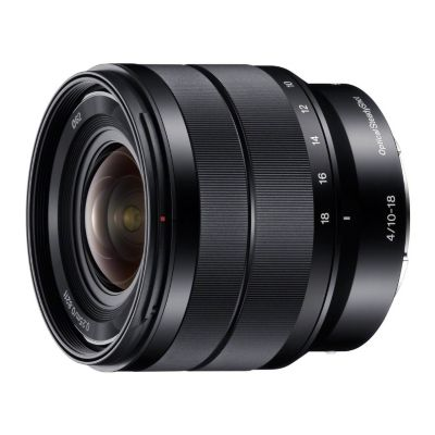 Objectif pour Hybride Sony SEL 10-18mm f/4 OSS Noir