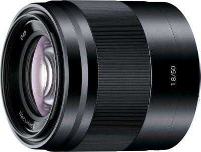 Objectif pour Hybride Sony SEL 50mm f1.8 OSS noir