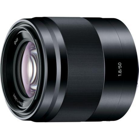 Objectif SONY SEL 50mm f1.8 OSS noir