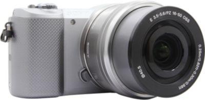 Appareil photo Hybride Sony A5000 gris + 16-50mm argent