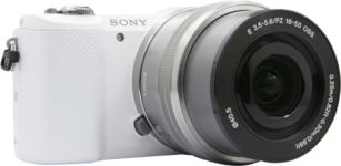 APN SONY A5000 blanc + 16-50mm argent