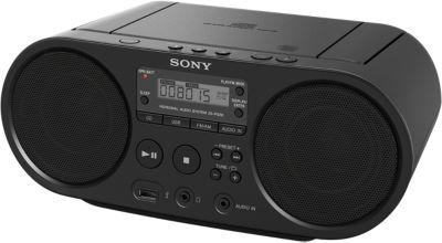Radio CD Sony ZS-PS50 Noir
