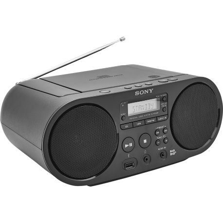 Radio CD SONY ZS-PS55B noir