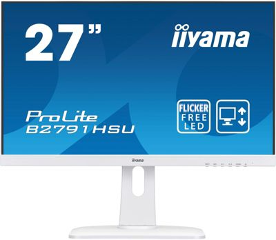 Ecran PC Iiyama ProLite B2791HSU-W1 Blanc