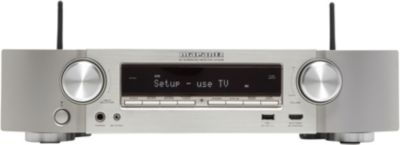 Ampli Home Cinema Marantz NR1608 Silver Gold