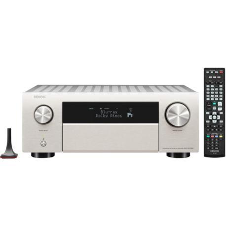 Amplificateur hifi A/V DENON AVC-X4700H Argent