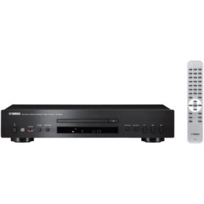 Platine CD Yamaha CDS300 noir + Amplificateur HiFi Yamaha MusicCast RN303 Noir + Enceinte colonne Triangle ZERIUS 902 Cognac X1
