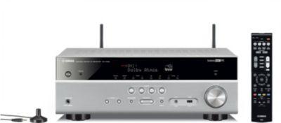 Ampli Home cinema yamaha musiccast rx-V585 silver