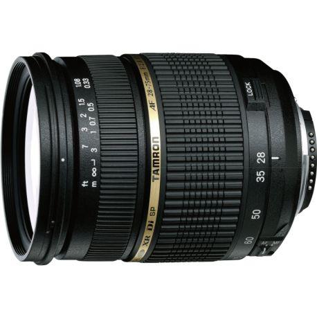 Objectif TAMRON SP AF 28-75mm f/2.8 XR Di LD IF Nikon