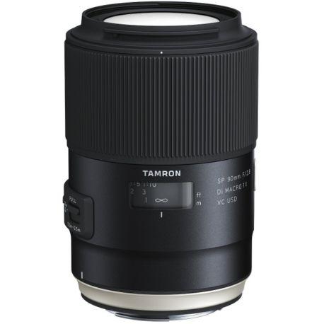 Objectif TAMRON SP 90mm F2.8 Di Macro VC USD Canon