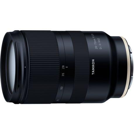 Objectif TAMRON 28-75mm F/2.8 Di III RXD Sony E-Mount