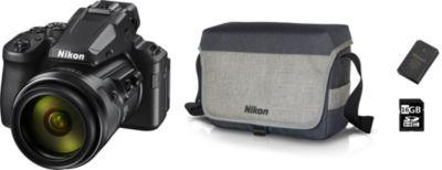 Appareil photo Bridge Nikon P950 noir PACK + batterie + étui...
