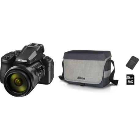 Bridge NIKON P950 noir PACK + batterie + étui + SD