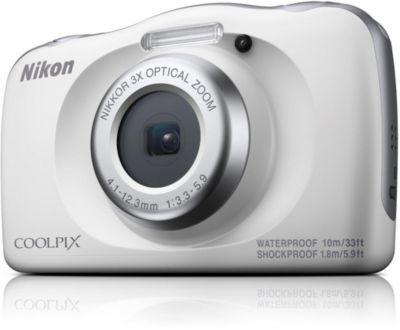 Appareil photo Compact Nikon Coolpix W150 Blanc + Sac à dos