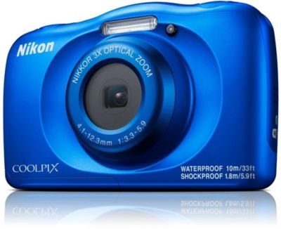 Appareil photo Compact Nikon Coolpix W150 Bleu + Sac à dos