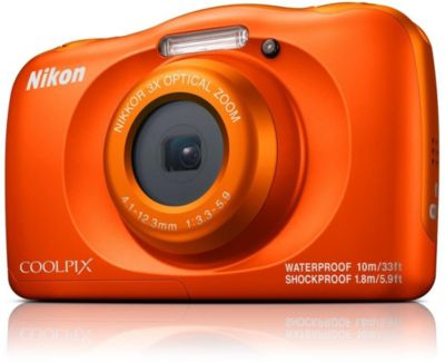 Appareil photo Compact Nikon Coolpix W150 Orange + Sac à dos