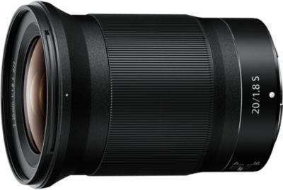 Objectif pour Hybride Plein Format Nikon NIKKOR Z 20mm f/1.8 S