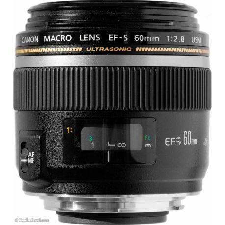 Objectif CANON EF-S 60mm f2.8 Macro USM