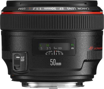 Objectif pour Reflex Canon EF 50mm f/1.2 L USM