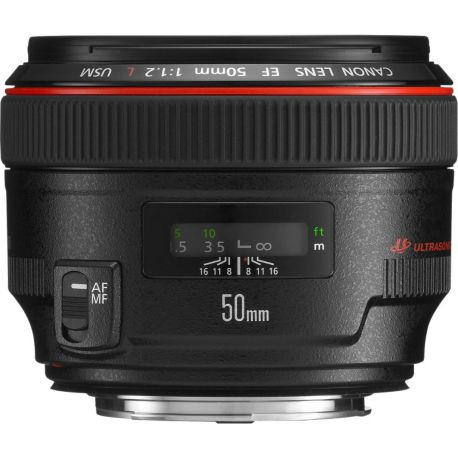 Objectif CANON EF 50mm f/1.2 L USM