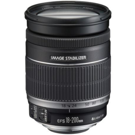 Objectif CANON EF-S 18-200mm f/3.5-5.6 IS