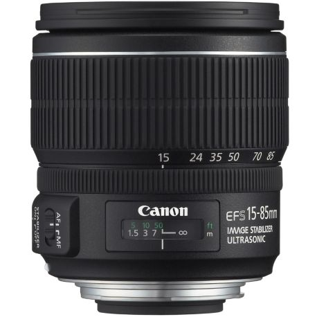 Objectif CANON EF-S 15-85mm f/3.5-5.6 IS USM