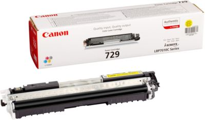 Toner Canon 729 Jaune