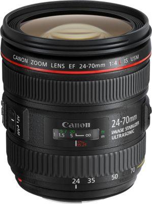 Objectif pour Reflex Plein Format Canon EF 24-70mm f/4 L IS USM