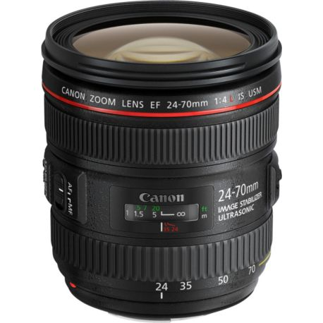 Objectif CANON EF 24-70mm f/4 L IS USM