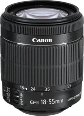 Objectif pour Reflex Canon EF-S 18-55mm f/3.5-5.6 IS STM