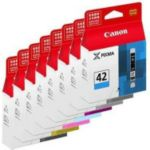Pack CANON 8 cartouches CLI-42