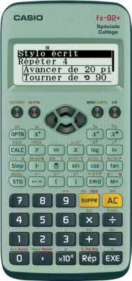 Calculatrice Scientifique casio fx92 college