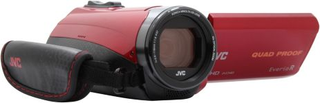 Camescope JVC GZ-R435 Rouge