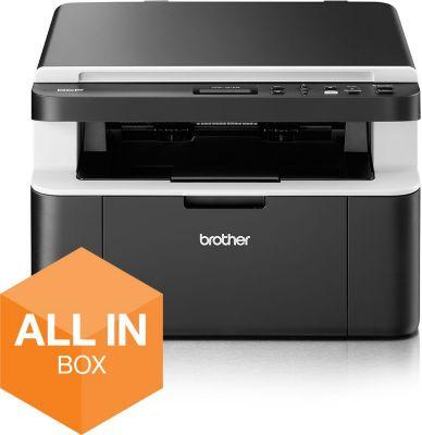 Imprimante laser noir et blanc Brother All In Box DCP-1612WVB...