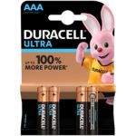 Pile DURACELL AAA x4 Ultra Power LR03