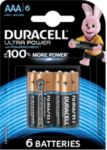 Pile DURACELL AAA x6 Ultra Power LR03