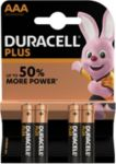 Pile DURACELL AAA x4 Plus Power LR03