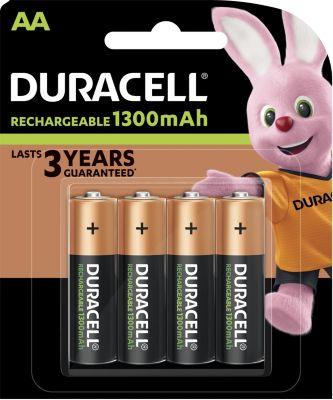 Accumulateur Duracell plus power 4 x aa 1300mah