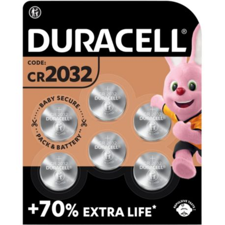 Pile DURACELL SPE 2032 X6