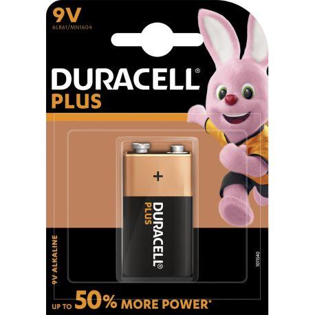 Pile DURACELL 9 Volts x1 Plus Power