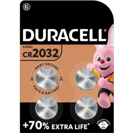 Pile DURACELL SPE 2032 X4