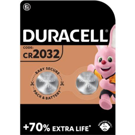 Pile DURACELL Lithium SPE 2032 - 2 Piles