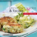 Livre KENWOOD Recettes rapides & faciles