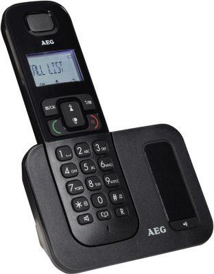 Téléphone sans fil AEG Voxtel D500 Solo Noir