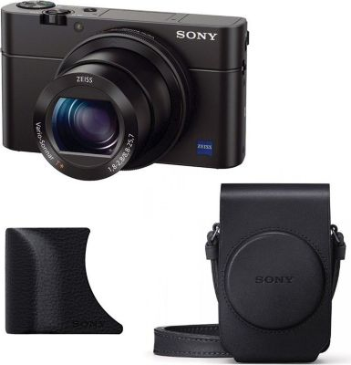 sony compact dsc rx100 iii noir grip agr2b appareil. Black Bedroom Furniture Sets. Home Design Ideas