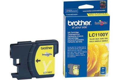 Cartouche D'encre brother lc1100 jaune