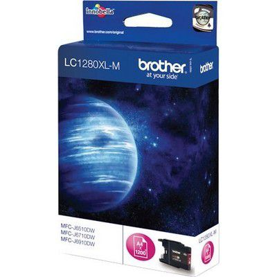 Cartouche D'encre brother lc1280xl magenta