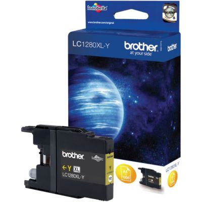 Cartouche D'encre brother lc1280xl jaune